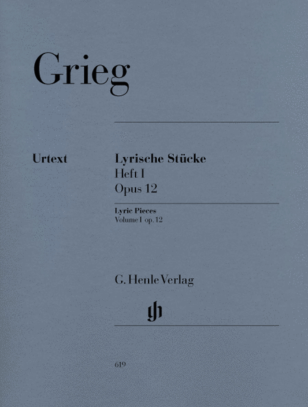 Lyric Pieces, Volume I Op. 12