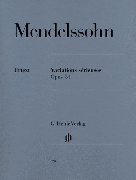 Variations serieuses op. 54
