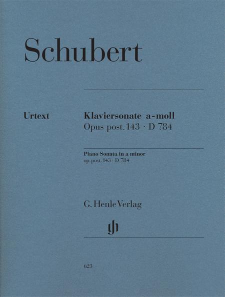Piano Sonata A minor Op. Posth. 143 D 784