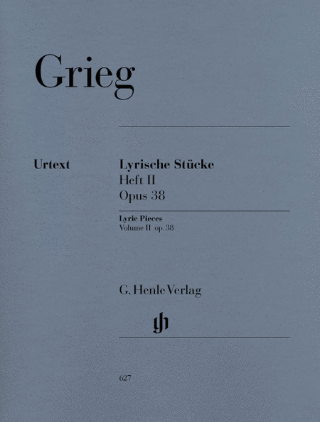 Lyric Pieces, Volume II Op. 38
