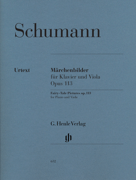 Marchenbilder for Viola and Piano op. 113