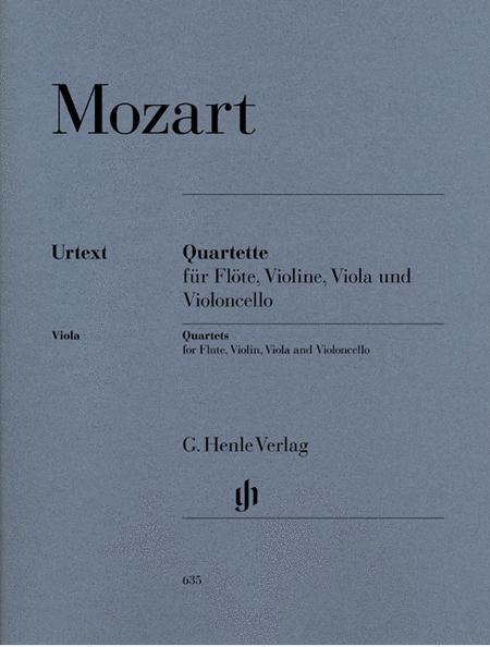 Quartets for Flute, Violin, Viola, and Violoncello
