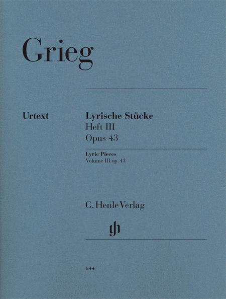 Lyric Pieces, Volume III Op. 43
