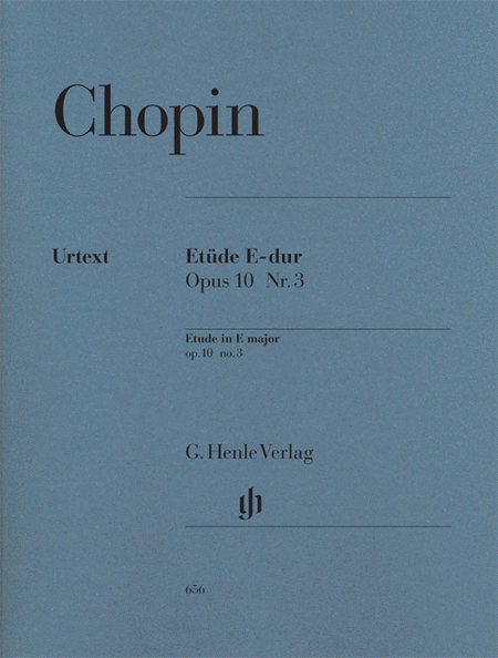 Etude in E Major Op. 10, No. 3
