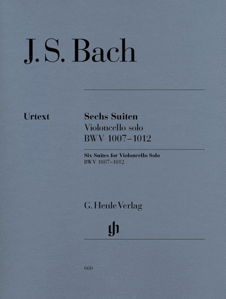 6 Suites for Violoncello Solo BWV 1007-1012