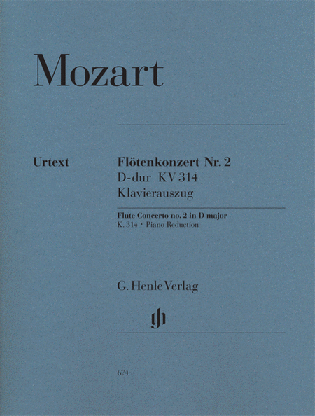 Concerto No. 2 in D Major, K. 314