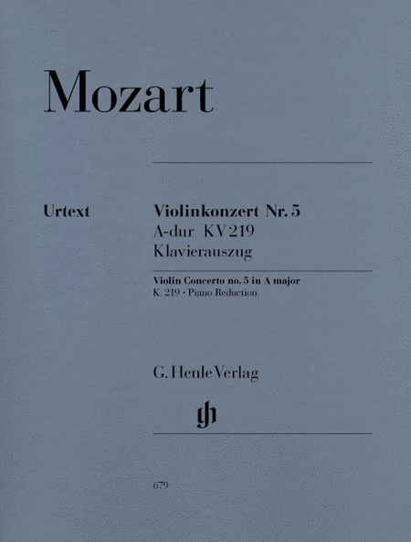 Violin Concerto No. 5 in A Major K219