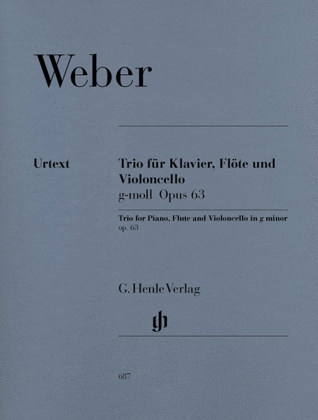 Trio in G minor Op. 63