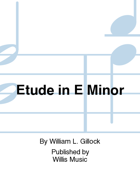 Etude in E Minor