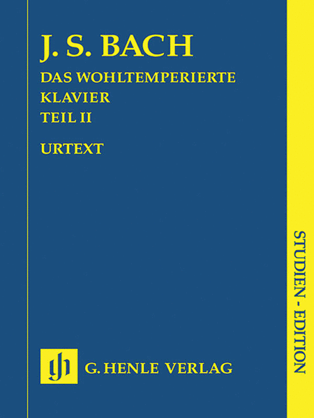 The Well-Tempered Clavier - Part II, BWV 870-893