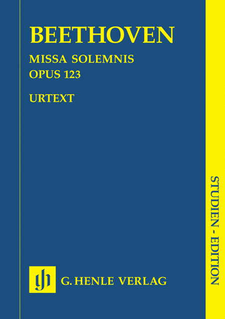 Missa Solemnis D Major Op. 123