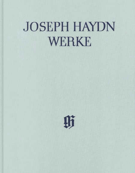 Joseph Haydn: Different songs with accompaniment of the Piano (with critical report)