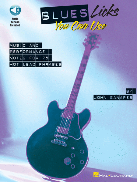 Blues Licks You Can Use - Book And CD