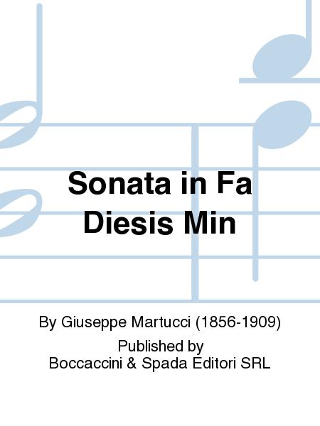 Sonata in Fa Diesis Min