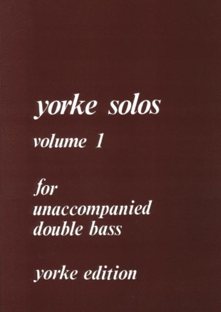 Yorke Unaccompanied Solos Vol. 1