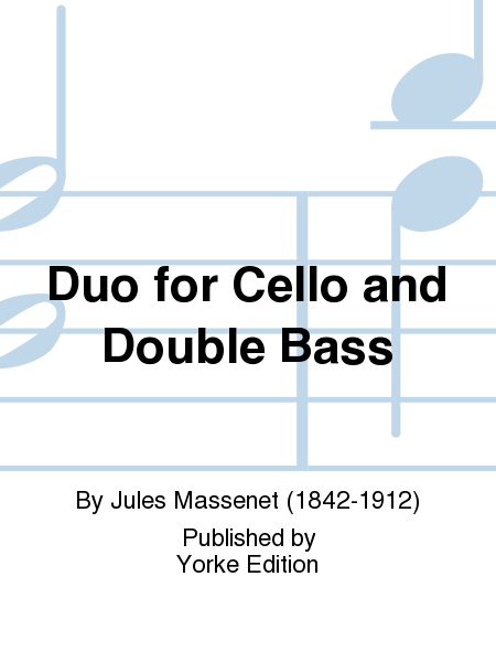Duo for Cello and Double Bass