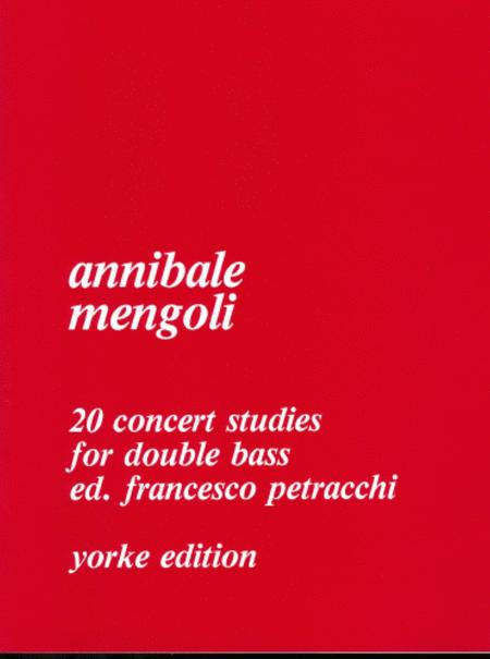 Twenty Concert Studies