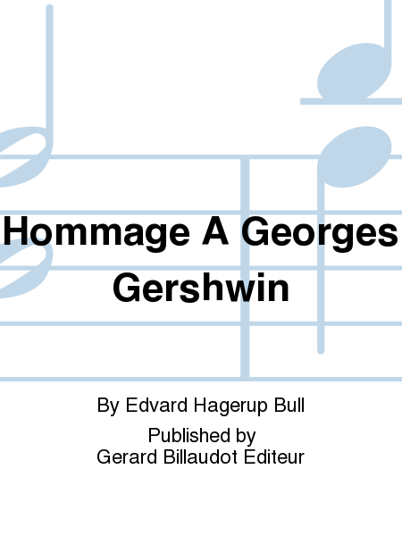 Hommage A Georges Gershwin