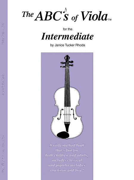 The ABC's of Viola for the Intermediate - Book 2