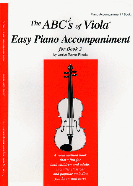 The ABC's of Viola, Book 2 - Easy Piano Accompaniment