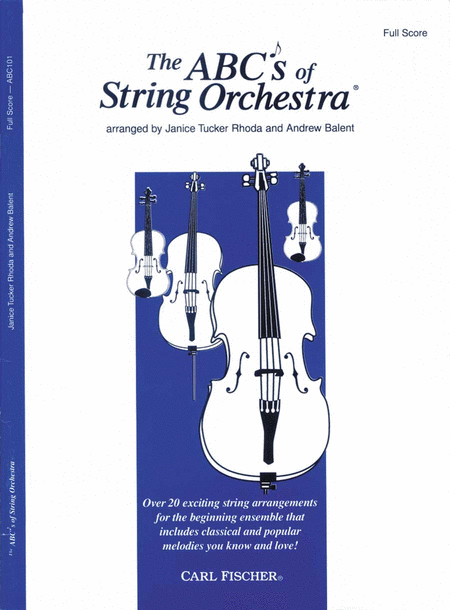ABC's of String Orchestra (Full score)
