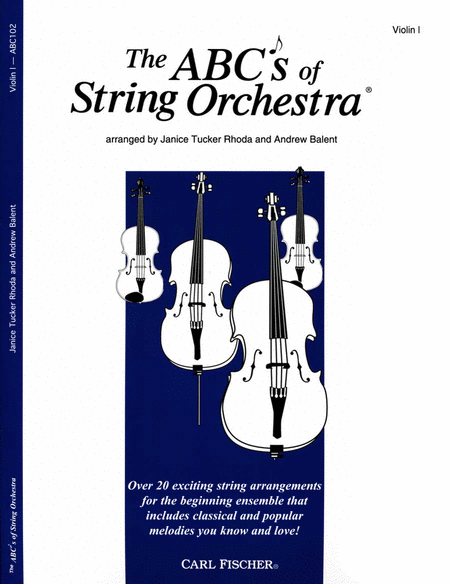 ABC's of String Orchestra (1st violin)