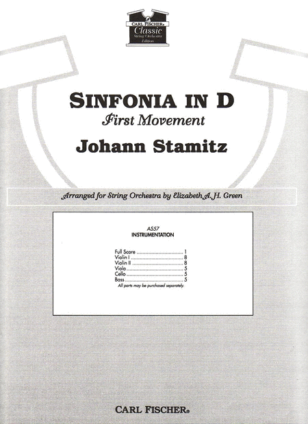 Sinfonia in D (First Movement)