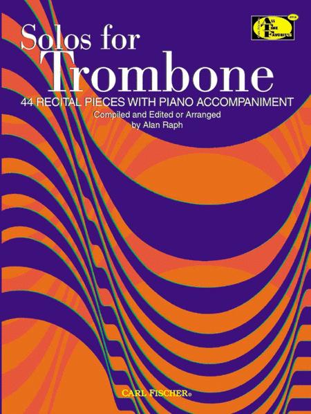 Solos for Trombone