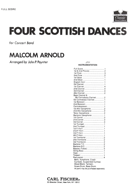 Four Scottish Dances