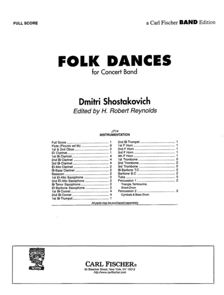 Folk Dances