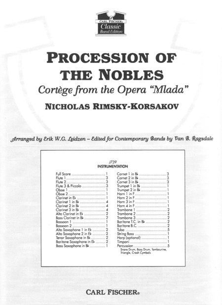 Procession of the Nobles