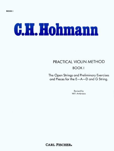 Practical Violin Method - Book I
