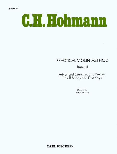 Practical Violin Method-Bk. III
