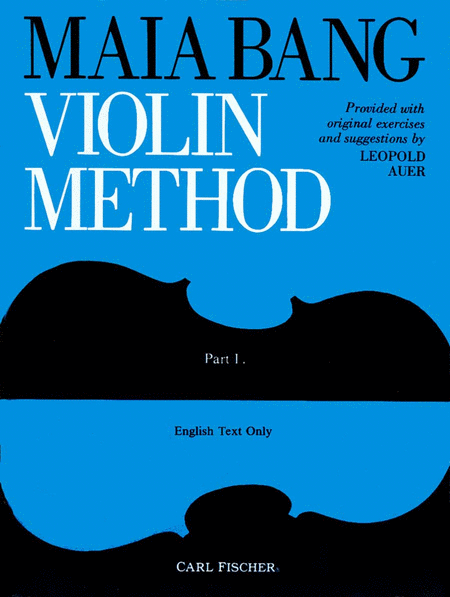 Maia Bang Violin Method, Part 1-English Text Only