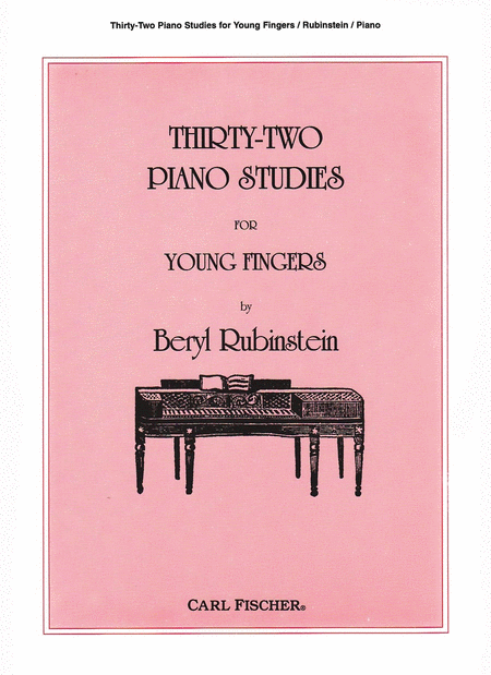 Thirty-Two Piano Studies