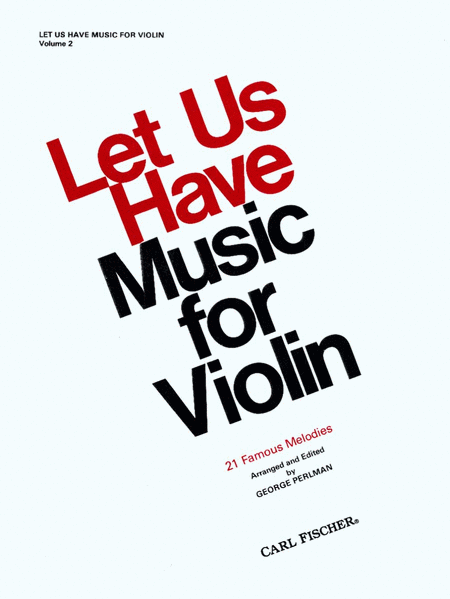 Let Us Have Music For Violin-Vol. 2
