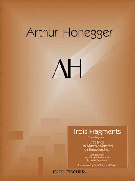 Trois Fragments (Three Fragments)