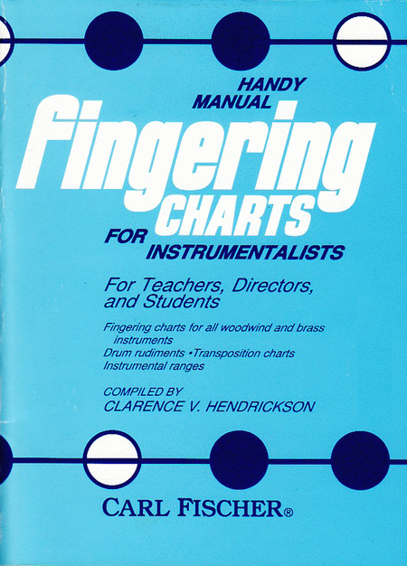 Handy Manual Fingering Charts for Instrumentalists