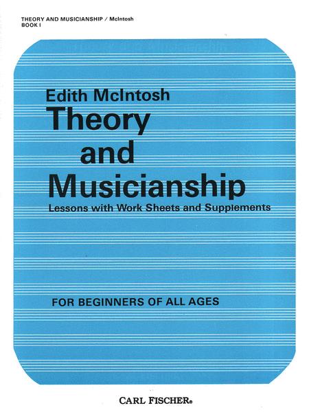 Theory and Musicianship-Bk. 1