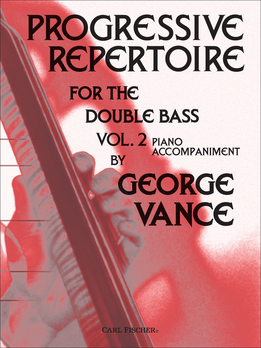 Progressive Repertoire for the Double Bass-Vol 2-Pa. Acc.