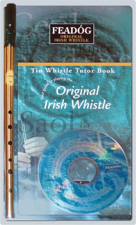 Feadog Triple Pack - Book, Whistle & CD
