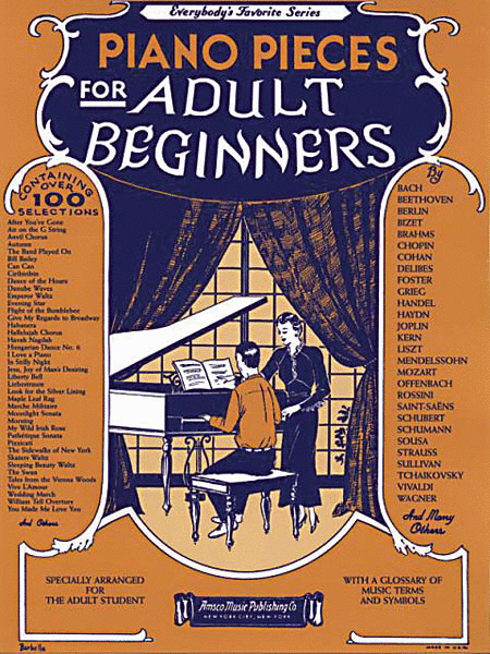 Piano Pieces for the Adult Beginner