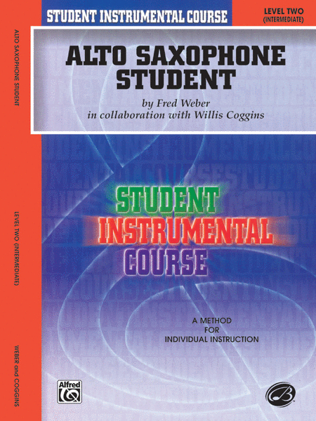 Student Instrumental Course Alto Saxophone Student