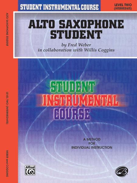 Student Instrumental Course Alto Saxophone Student