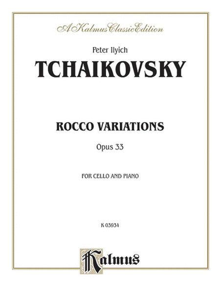 Rococo Variations, Op. 33