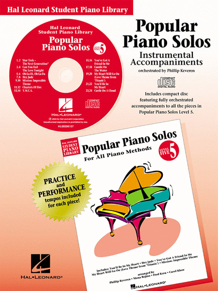 Popular Piano Solos - Level 5 - CD