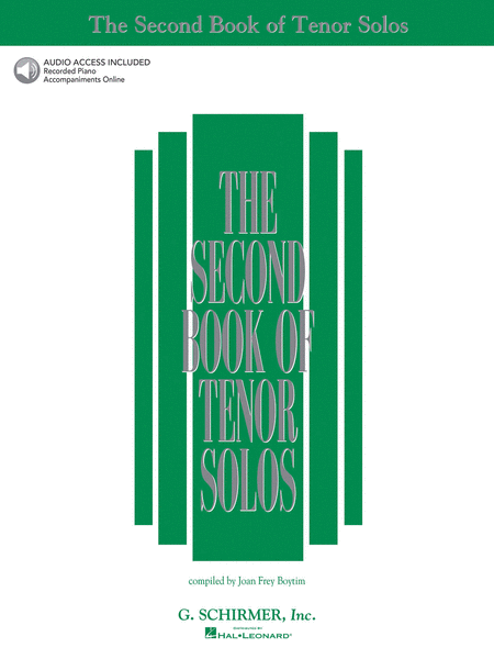 The Second Book of Tenor Solos