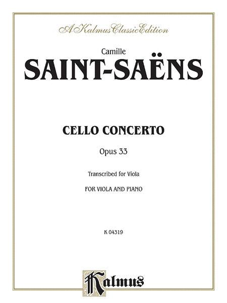 Cello Concerto, Op. 33
