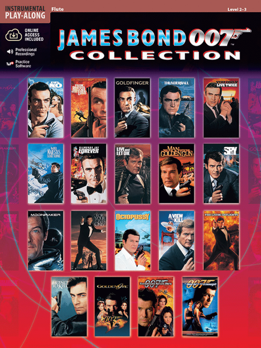 James Bond 007 Collection - Flute (Book/CD)