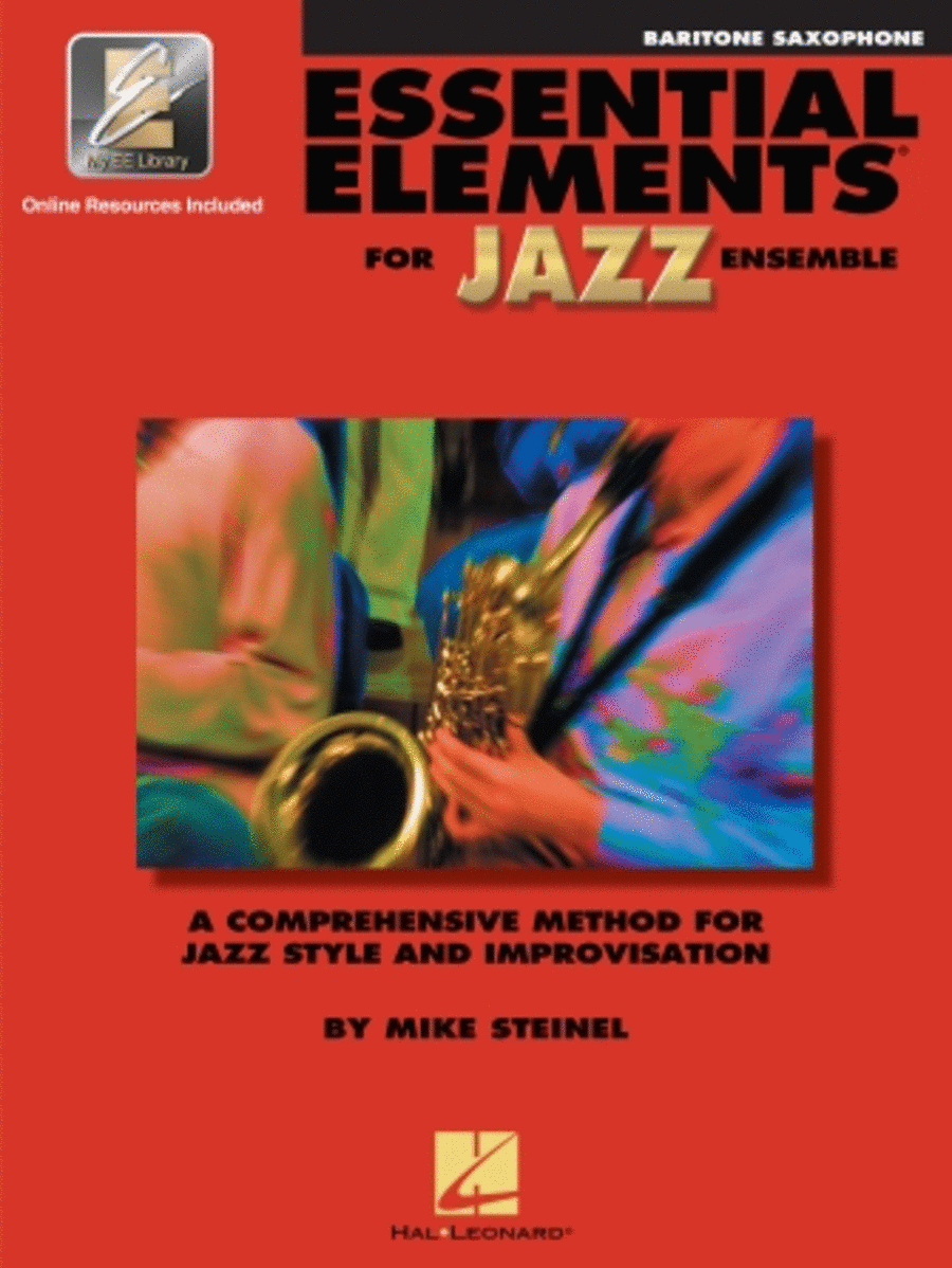 Essential Elements for Jazz Ensemble (E-flat Baritone Saxophone)